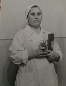 Финогенова (Засухина) Елизавета Николаевна