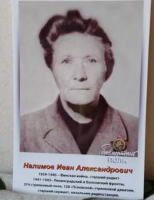 Налимов Иван Александрович