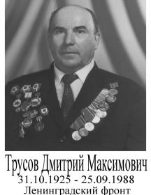 Трусов Дмитрий Максимович