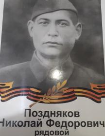 Поздняков Николай Федорович