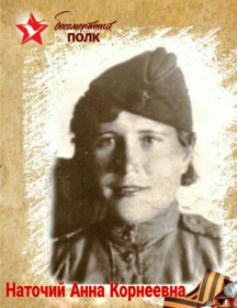 Наточий Анна Корнеевна