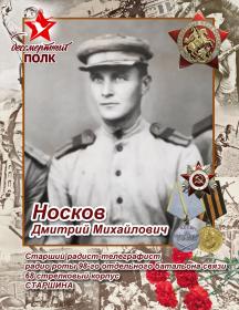 Носков Дмитрий Михайлович
