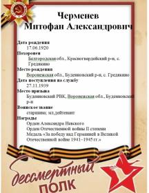 Черменев Митрофан Александрович
