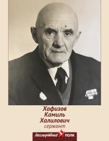 Хафизов Камиль Халилович