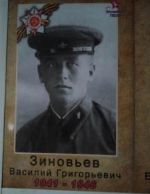 Зиновьев Василий Григорьевич