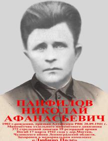 Панфилов Николай Афанасьевич