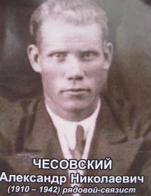 Чесовский Александр Николаевич