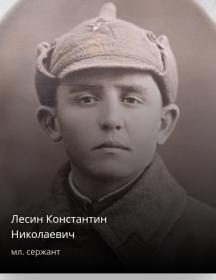 Лесин Константин Николаевич