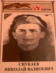 Сиукаева Николай Вазноевич