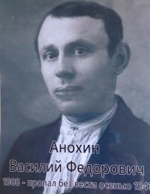Анохин Василий Фёдорович