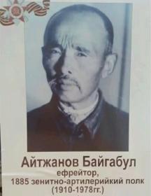 Айтжанов Байгабул
