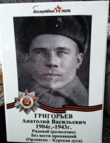 Григорьев Анатолий Васильевич