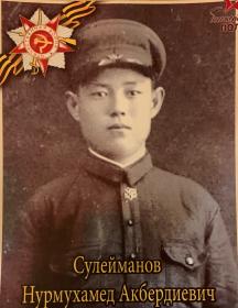 Сулейманов Нурмухамед Акбердиевич