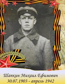 Шапкин Ефим Ефимович