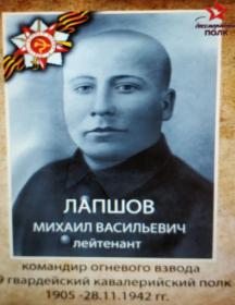 Лапшов Михаил Васильевич
