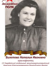 Билетова Наталия Ивановна