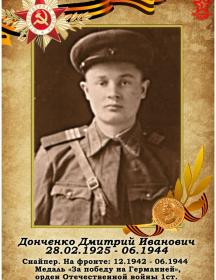 Донченко Дмитрий Иванович