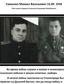 Самынин Михаил Васильевич
