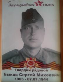 Быков Сергей Михайлович (Михеевич)