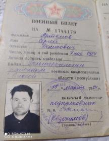 Артёмов Сергей Денисович