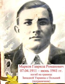 Марков Гаврила Романович