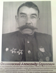 Охинковский Александр Сергеевич