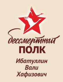 Ибатуллин Вали Хафизович