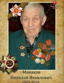 Манаков Николай Яковлевич