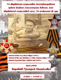Воробьев Григорий Михайлович