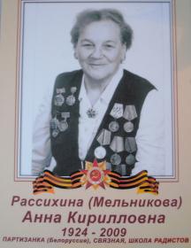 Мельникова Анна Кирилловна