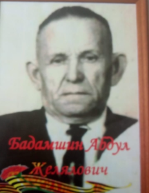 Бадамшин Абдул Желялович