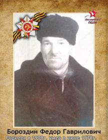 Бороздин Федор Гаврилович