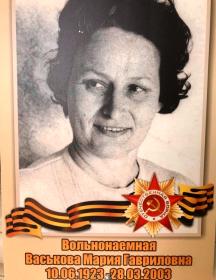 Васькова Мария Гавриловна