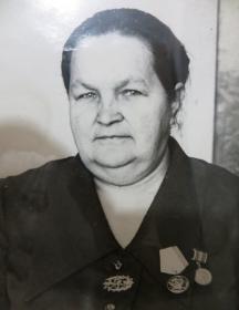 Большакова (Абашкина) Мария Семёновна