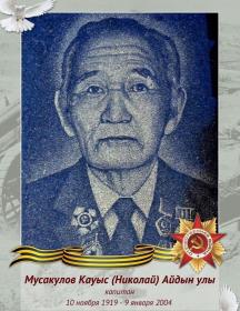 Мусакулов Кауыс (Николай) Айдын Улы