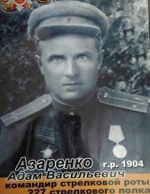 Азаренко Адам Васильевич