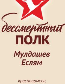 Мулдашев Еслям