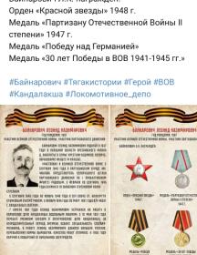 Бейнарович Леонид Казимирович