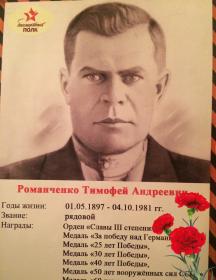 Романченко Тимофей Андреевич