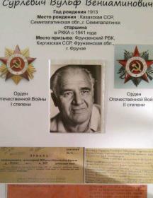 Сурлевич Вульф Вениаминович