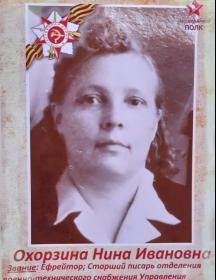 Охорзина Нина Ивановна