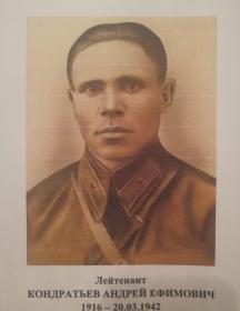 Кондратьев Андрей Ефимович