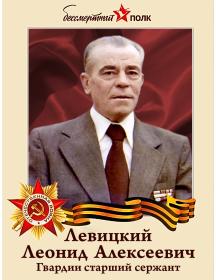 Левицкий Леонид Алексеевич
