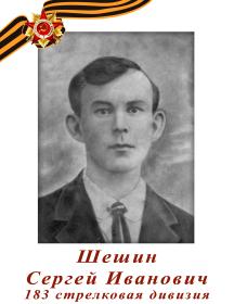 Шешин Сергей Иванович