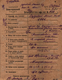 Судаков Леонтий Степанович