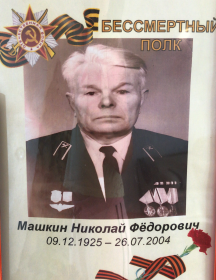 Машкин Николай Фёдорович