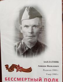 Заплатник Анисий Яковлевич