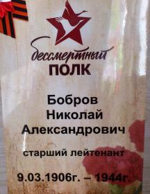 Бобров Николай Александрович