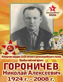 Гороничев Николай Алексеевич