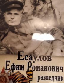 Есаулов Ефим Романович